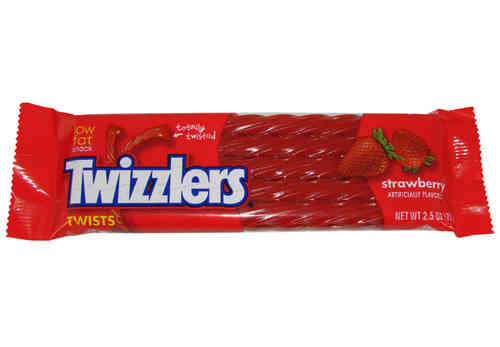 Twizzlers Strawberry Twists, 70 g, 2,5 oz.
