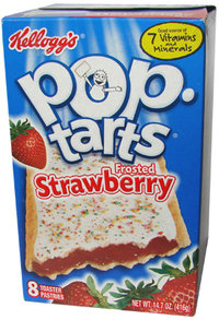 Kellogg's Pop-Tarts FROSTED Strawberry, 8 Stück, 416 g