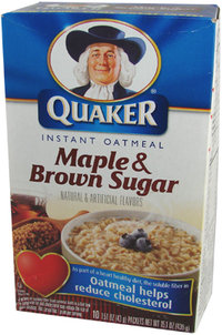 Quaker Instant Oatmeal - Maple & Brown Sugar, 430 g