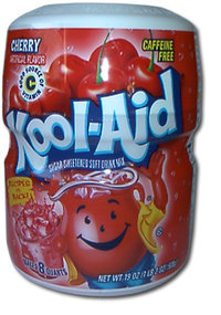 Kool-Aid CHERRY Drink Mix, 538 g-Barrel, 19 oz.