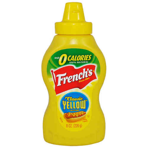 French's Classic Yellow Mustard, 226 g, 8 oz.