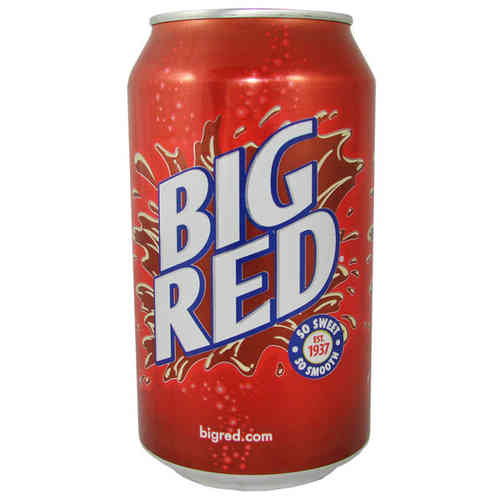 BIG RED Soda USA, 355 ml-Dose, 12 fl. oz.