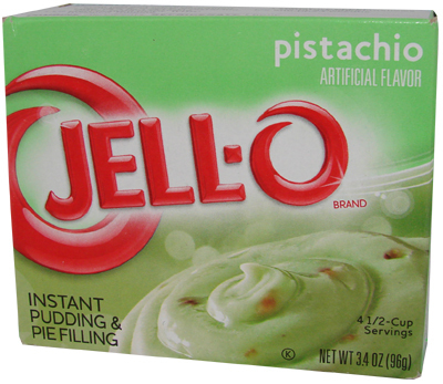 JELL-O Instant Pudding & Pie Filling PISTACHIO, 96 g