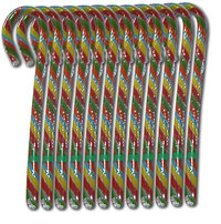 Spangler Candy Canes CHERRY Multicolor, 12 St., 336 g