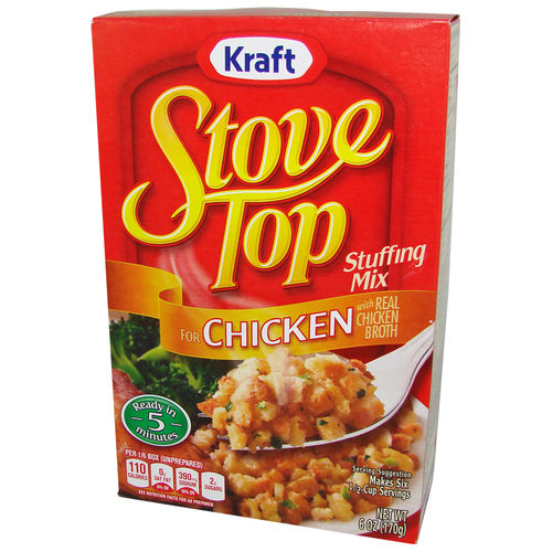 Kraft - Stove Top Stuffing Mix for CHICKEN, 170 g, 6 oz.