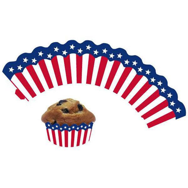 simple cupcake usaflagge stck with dekoartikel american diner. Black Bedroom Furniture Sets. Home Design Ideas