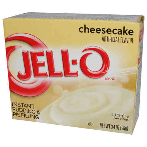 JELL-O Instant Pudding & Pie Filling CHEESECAKE, 96 g