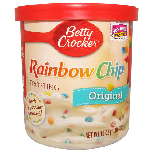 Betty Crocker - RAINBOW CHIP Original Frosting, 453 g