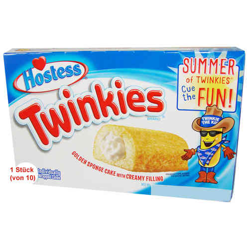 Hostess - TWINKIES - Golden Sponge Cake, 1 Stück, 38,5 g