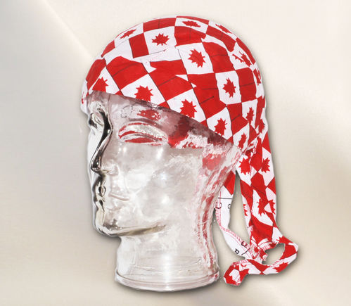 Bandana Cap - Canada - Maple Leaf Flag