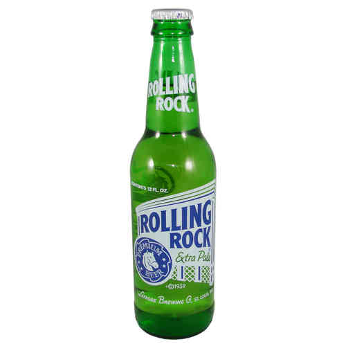 Rolling Rock - Extra Pale Premium Beer, 355 ml-Flasche