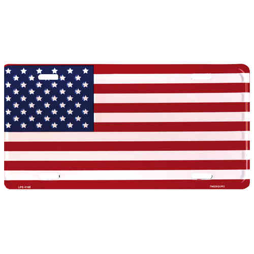 Booster Plate - US-Flagge, ca. 30 x 15 cm