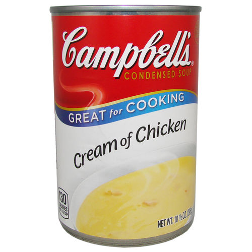 Campbell's - Cream of Chicken Condensed Soup, 298 g
