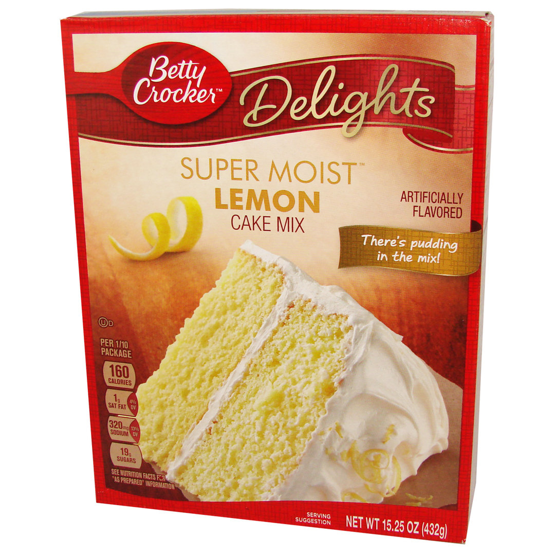 Betty Crocker Delights Lemon Cake Mix
