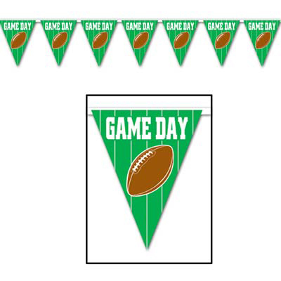 Wimpelkette - American Football Game Day, ca. 370 cm
