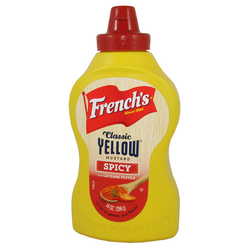 French's Classic Yellow Mustard SPICY, 396 g, 14 oz.