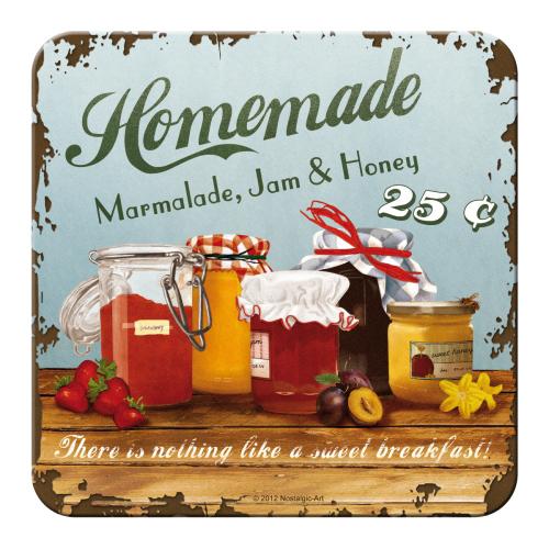 Metall-Untersetzer - Homemade Marmalade