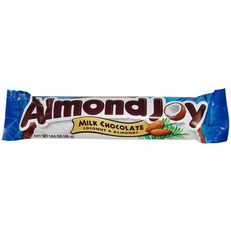 hershey 39 s almond joy candy bar 45 g oz us shop berlin. Black Bedroom Furniture Sets. Home Design Ideas