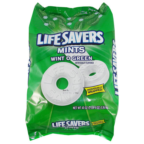 Life Savers - Wint O Green - Mints Big Bag, 1,16 kg