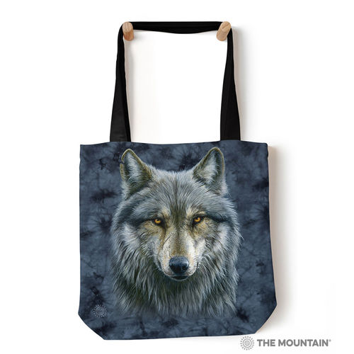 THE MOUNTAIN® Tragetasche - Warrior Wolf Grey