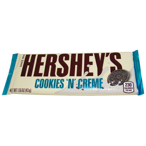 Hershey's - Cookies 'n' Creme Bar, 43 g, 1.55 oz