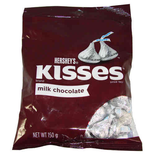 Hershey's - Kisses Milk Chocolate, 150 g, 5.3 oz.