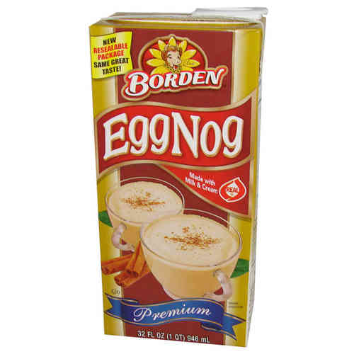 Borden® EggNog Premium, 946 ml, 32 FL OZ Carton