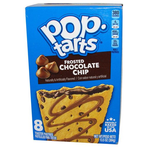 Kellogg's® Pop-Tarts® FROSTED Chocolate Chip, 8 Stück, 384 g