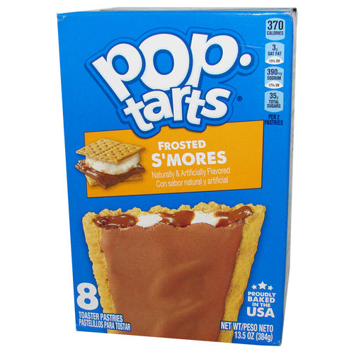 Kellogg's® Pop-Tarts® FROSTED S'mores, 8 Stück, 384 g