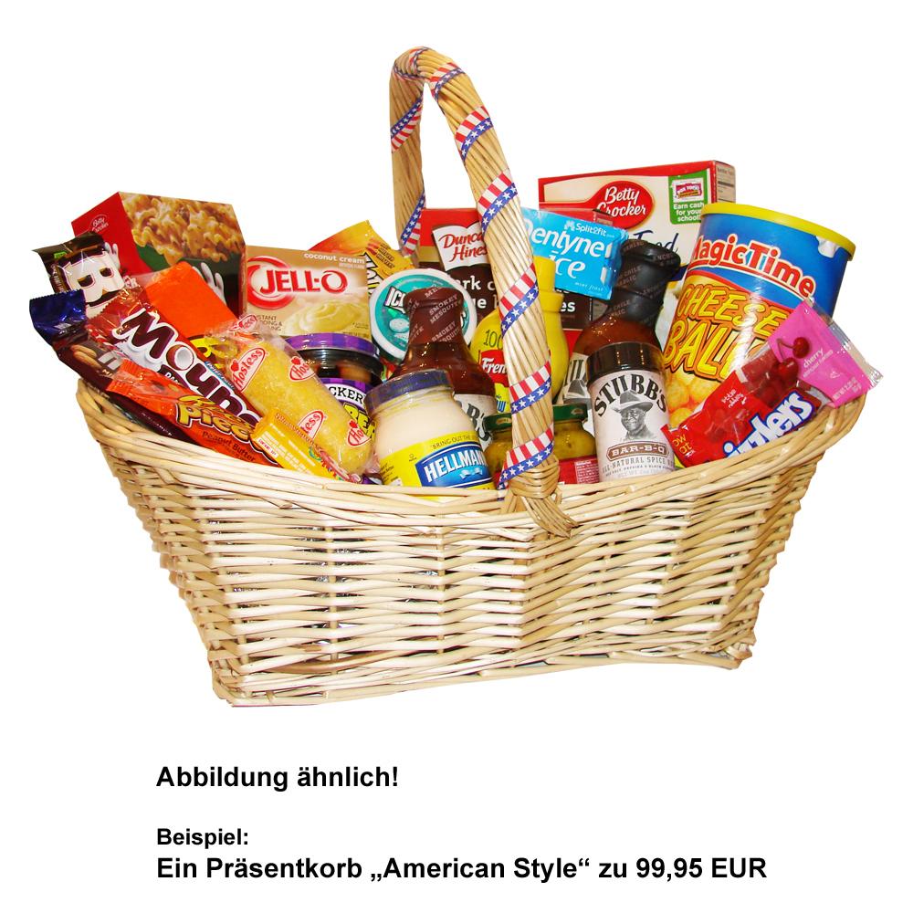 Gift Baskets/ Präsentkörbe - US-Shop Berlin