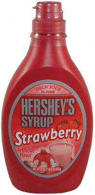 Hershey's - Strawberry Flavor Syrup, 623 g, 22 oz.