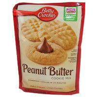 Betty Crocker - Peanut Butter Cookie Mix, 496 g - best before 24. Nov. 18