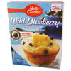 Betty Crocker - Muffin Mix Wild Blueberry, 479 g