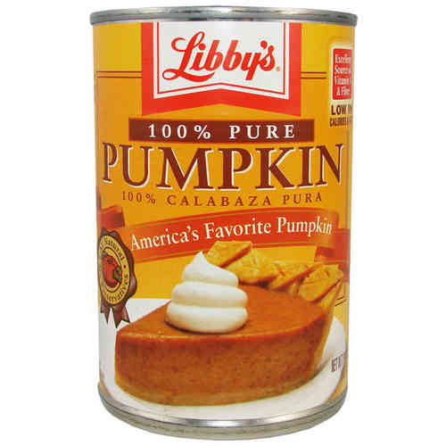 Libby's® 100% Pure Pumpkin Can, 425 g, 15 oz.
