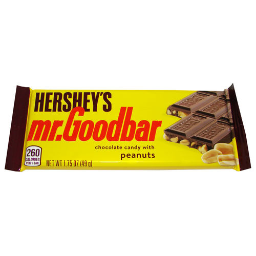 Hershey's - mr. Goodbar, 49 g, 1,75 oz.