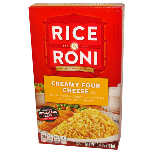 Rice A Roni® Creamy Four Cheese Flavor, 181 g