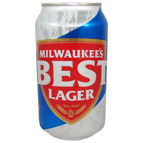 Miller - Milwaukees BEST Lager Beer, 355 ml-Dose