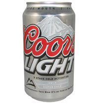 Coors LIGHT Premium Beer, 355 ml-Dose, 12 fl oz.