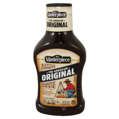 KC Masterpiece® BBQ Sauce - The American Original, 510 g