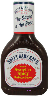 Sweet Baby Ray's® Barbecue Sauce Sweet & Spicy, 510 g