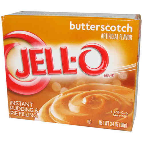 JELL-O® Instant Pudding & Pie Filling BUTTERSCOTCH, 96 g