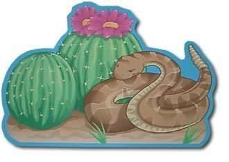 Country and Western - Deko-Schild Snake