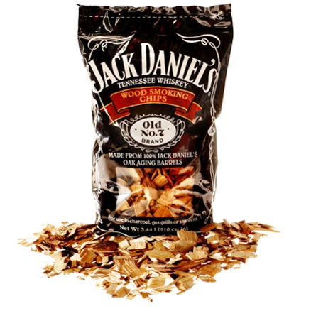 Jack Daniels Wood Smoking Chips, ca. 2,94 Liter