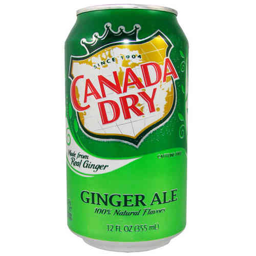 Canada Dry GINGER ALE Soda USA, 355 ml-Dose