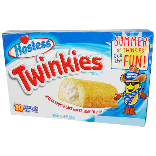 Hostess® TWINKIES® Golden Sponge Cake Original, 10 Stück, 385 g
