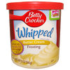 Betty Crocker™ WHIPPED Butter Cream Frosting, 340 g