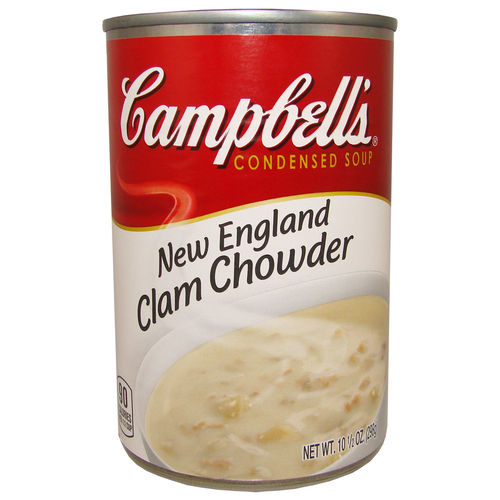 Campbell's® Clam Chowder Condensed Soup, 298 g