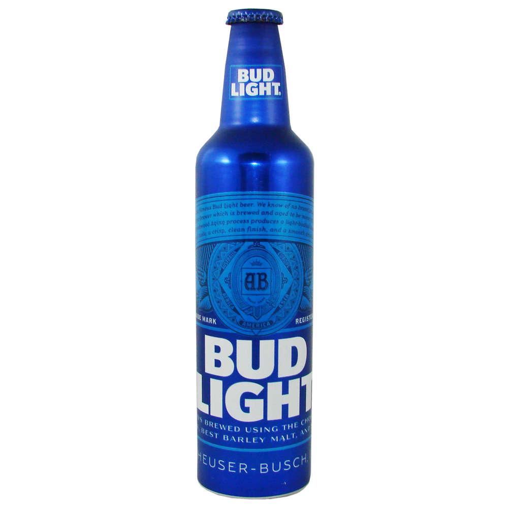 BUD LIGHT Lager Beer, 473 ml-Alu-Flasche, 16 fl. oz. - US-Shop