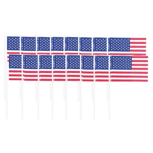 American Flag Picks - USA Stars & Stripes, 120 Stück
