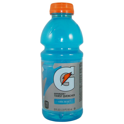 GATORADE Thirst Quencher - COOL BLUE, 591 ml-Flasche
